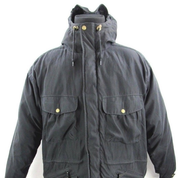 Down Hooded Parka Woolrich Coats amp; Jackets Goose Jacket Black HZxxqAYw1